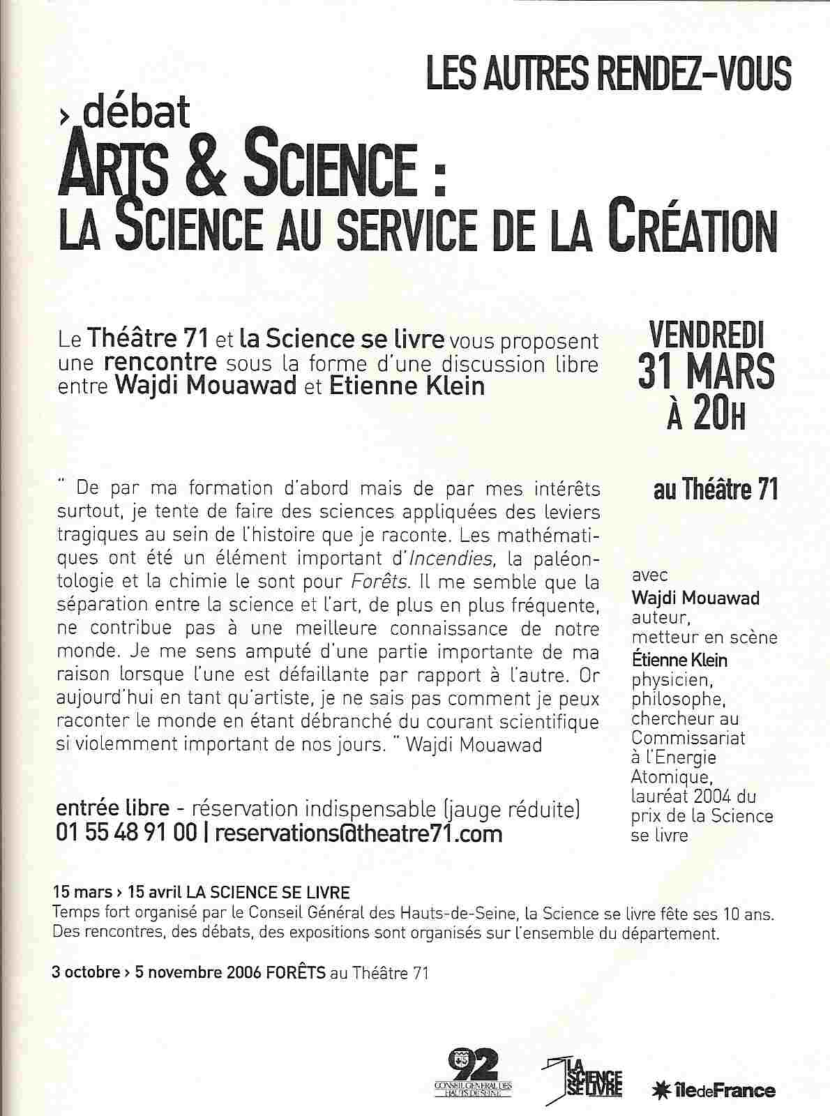 Art et Science à malakoff